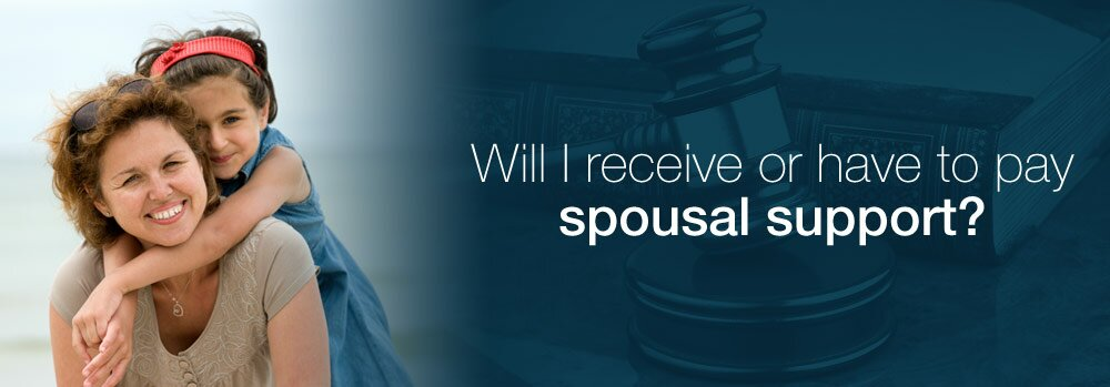 Will I receive or have to pay spousal support?